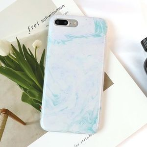 Accessories - NEW iPhone 7/8 Blue Marble Case